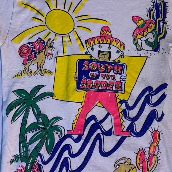 Hanes Mexico South Of The Border All Over Print